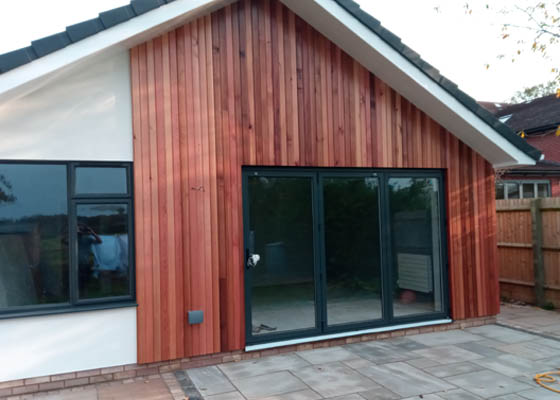 Salisbury Kitchens and Carpentry Wooden Cladding